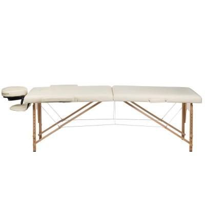 Stół do masażu /rehabilitacji / zabiegów kosmetycznych BS-523 Kremowy