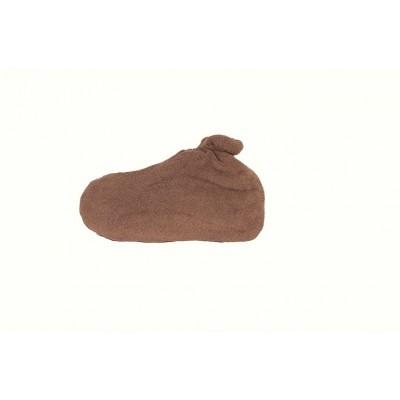 Skarpeta kosmetyczna frotte czekoladowy 1 para