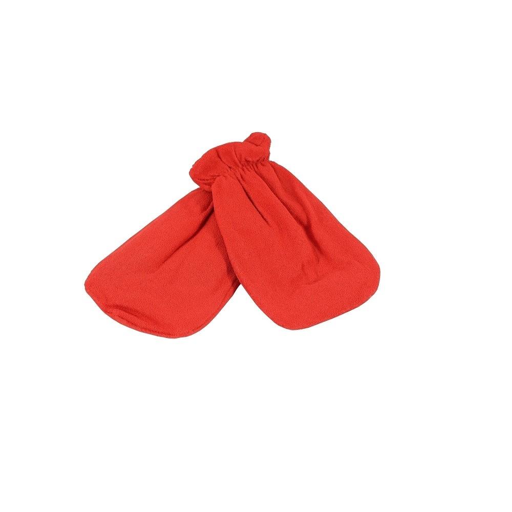 Rękawica kosmetyczna frotte czerwony 1 para