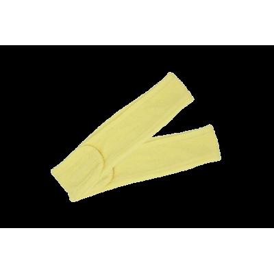 Opaska kosmetyczna frotte kremowy 2szt