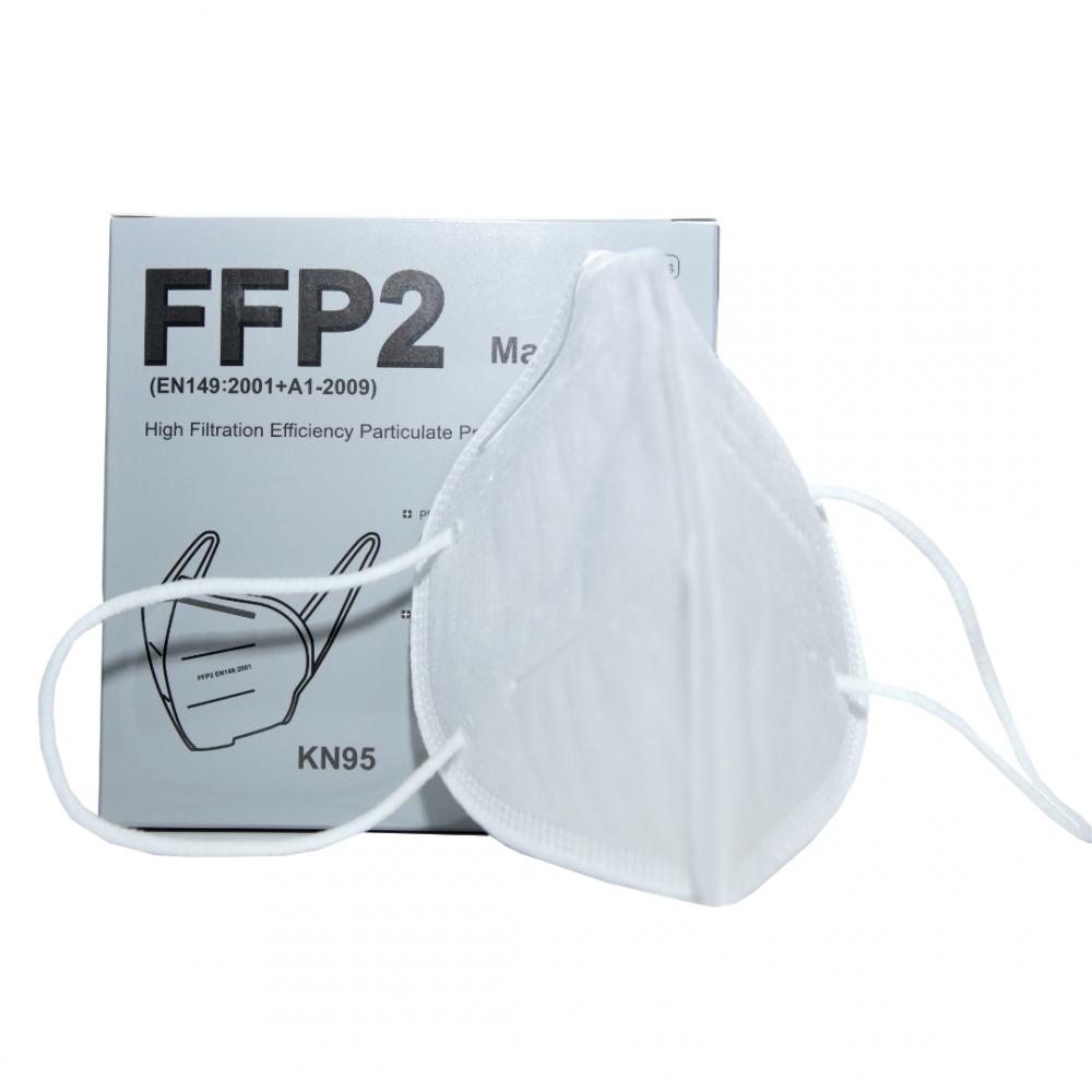 Maseczka Maska ochronna FFP2 KN95 opakowanie 5szt.