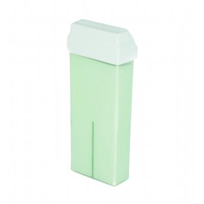 Wosk do depilacji z rolką szeroką GREEN TEA  100ml