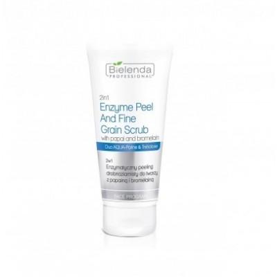 2 w 1 Peeling do twarzy enzymatyczny z papainą 150 g