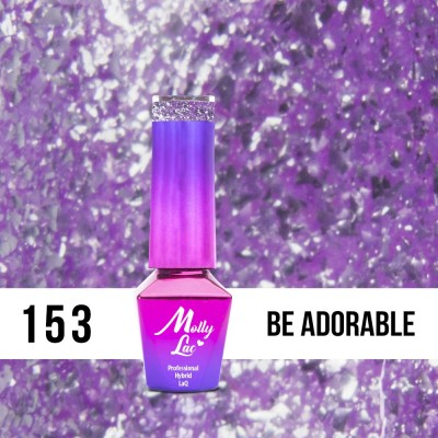 LAKIER MOLLY LAC LUXURY BE ADORABLE 5ml nr 153