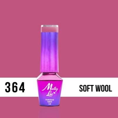 LAKIER MOLLY LAC SILK&COTTON SOFT WOOL 5ml nr 364