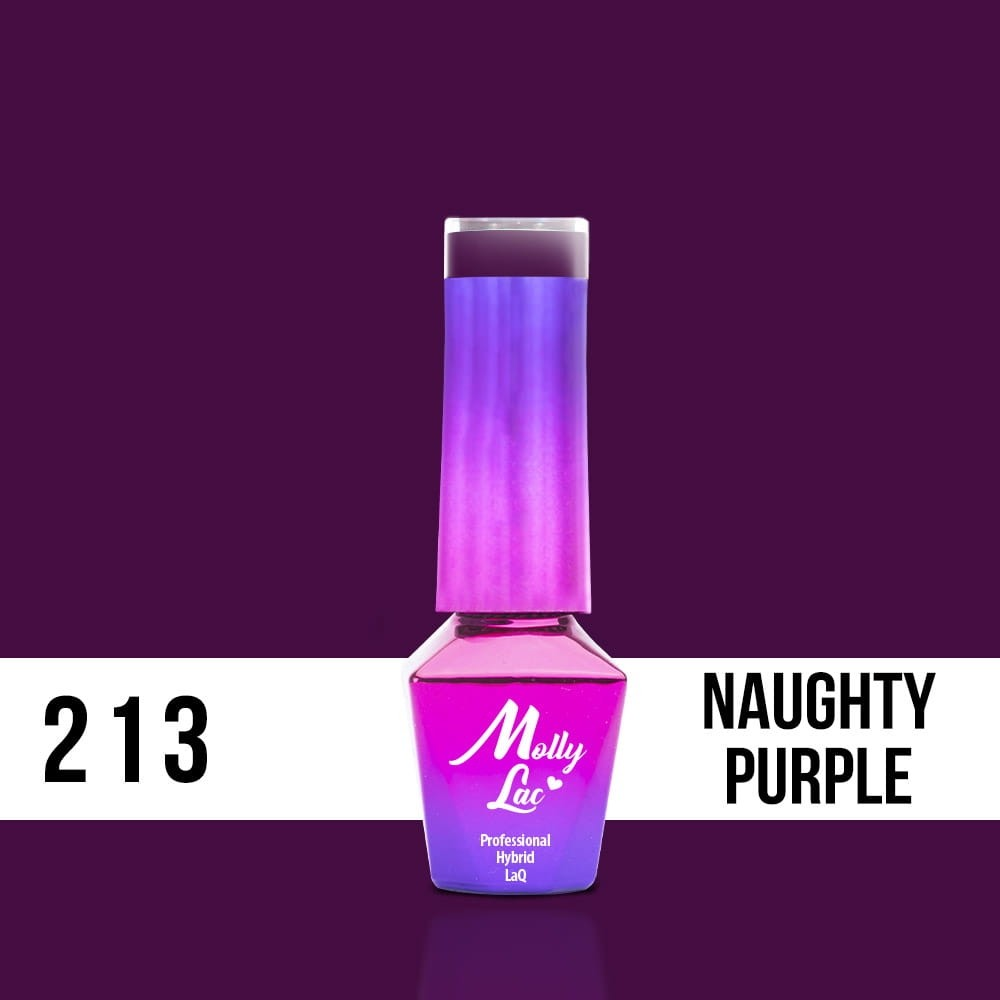 LAKIER MOLLY LAC OBSESSION NAUGHTY PURPL 5ml nr213