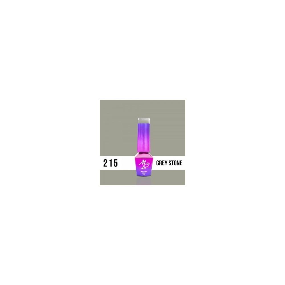 LAKIER MOLLY LAC OBSESSION GREY STONE 5ml nr 215