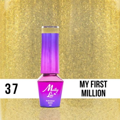 LAKIER MOLLY LAC QUEENS OF LIFE MILLION 5ml nr 37