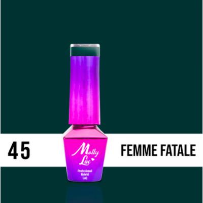 LAKIER MOLLY LAC ELITE WOMEN FEMME FATALE 5ml nr45