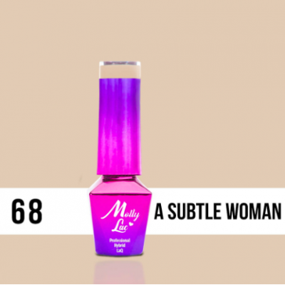 LAKIER MOLLY LAC DELICATE WOMAN A SUBTLE 5ml nr 68