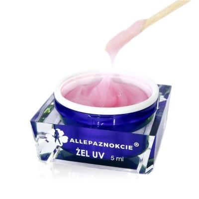 Żel budujący Jelly Milky Pink 15ml