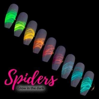 Żel do zdobień Spider Gel Pinktastic Nr 6  3ml